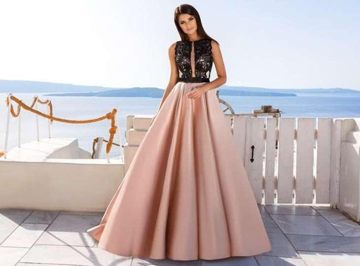 Какие ткани используются для пошива платьев на выпускной: требования и виды