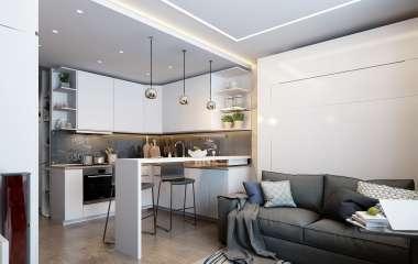 7 советов, которые помогут правильно организовать пространство на маленькой кухне