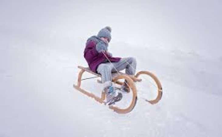 Зимний транспорт для малыша: как выбрать детские санки