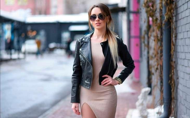 Женские куртки из кожи — хит 2020 года