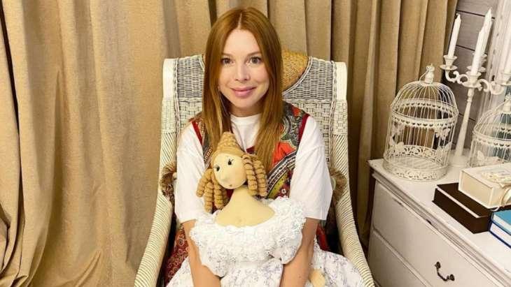 Наталья Подольская устроила новорожденному сыну первую фотосессию