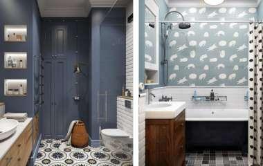 Как правильно задействовать пространство в маленькой ванной