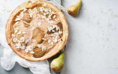 2 простых рецепта грушевого пирога