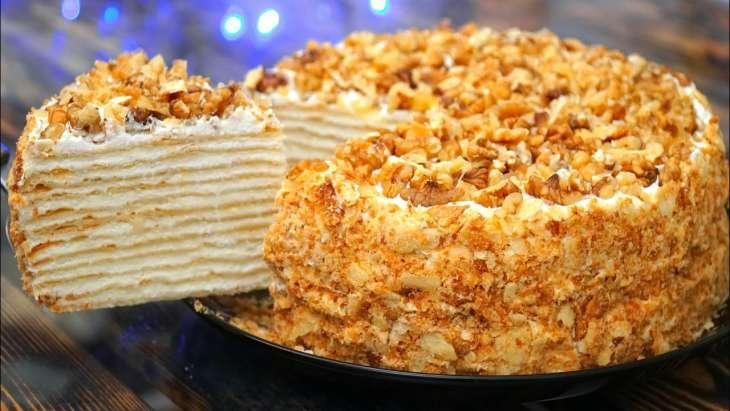 Рецепт нежного торта Наполеон