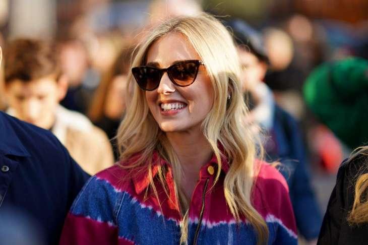 Кьяра Ферраньи и Яна Рудковская носят одинаковые костюмы от Louis Vuitton