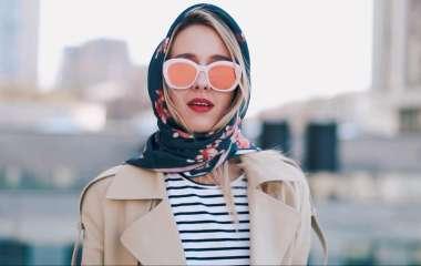 7 стильных способов завязать платок