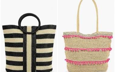 Модные пляжные сумки в летнем сезоне 2019, фото