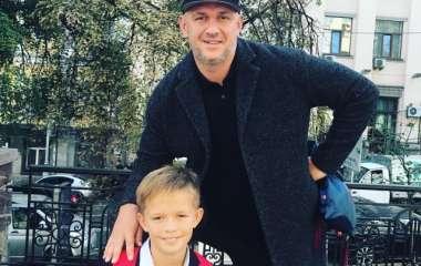 Копия отца: Потап похвастался своим стильным сыном Андреем (ФОТО)
