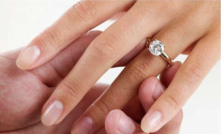 Как правильно подобрать золотое кольцо с бриллиантом
