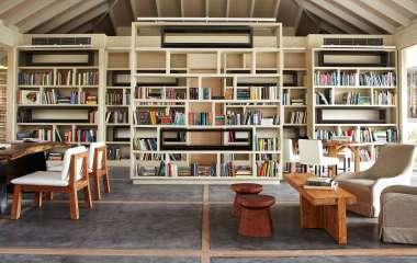 Как обустроить домашнюю библиотеку?