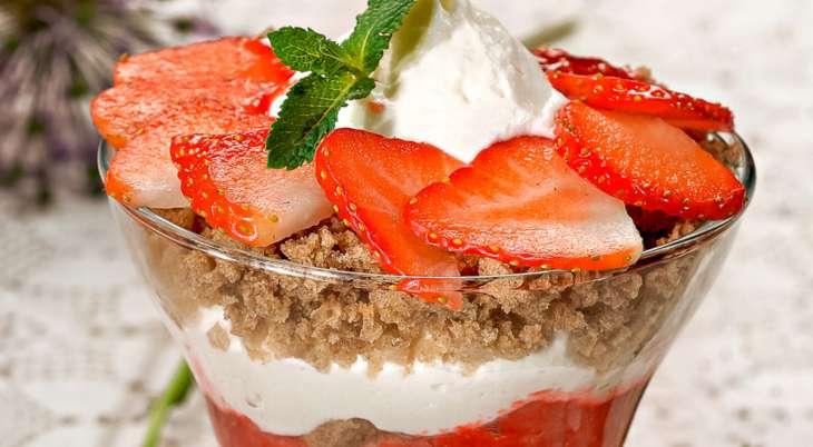 Десерты из клубники. Топ 10 вкуснейших рецептов!