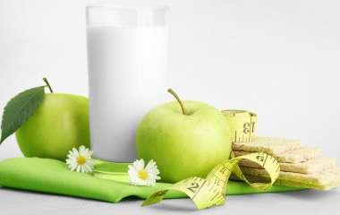Яблочно-кефирная диета на 3 дня
