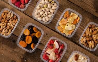 8 здоровых и полезных перекусов