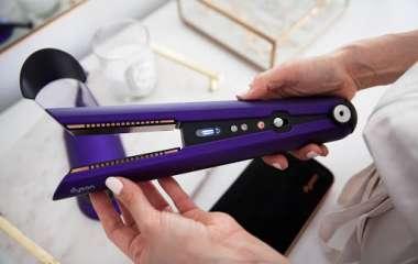 Космическое выпрямление волос утюжком Dyson Corrale