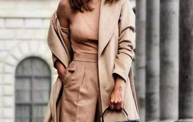 5 модных образов с пальто на осень 2020