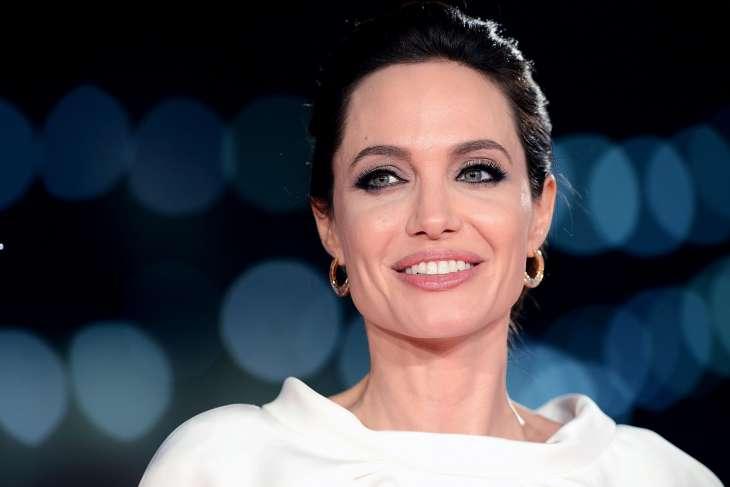 Анджелина Джоли поразила очаровательным образом