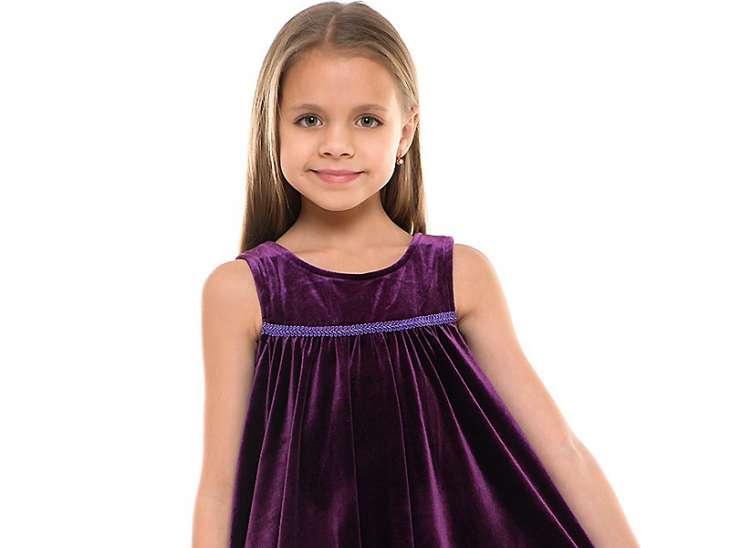 Натуральные детские платья из трикотажа
