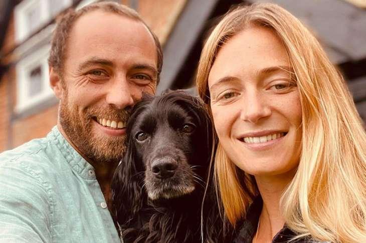 Брат Кейт Миддлтон Джеймс женился на своей возлюбленной Ализе Тевене