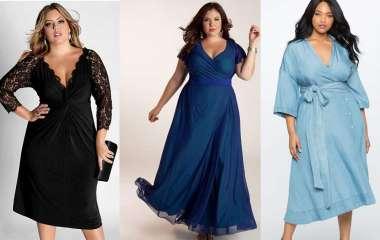 Правила выбора вечерних платьев для полных женщин