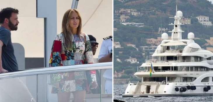 Дженифер Лопес отпраздновала день рождения на яхте Ахметова: в сеть просочились фото