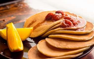 Пошаговые рецепты шоколадных панкейков