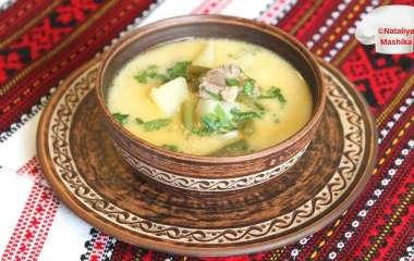 Рецепт фасолевого супа по-закарпатски