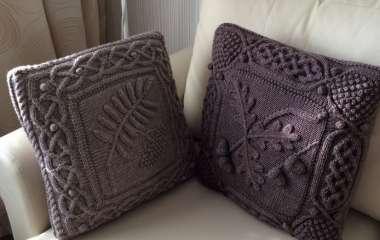 Диванные подушки как яркий акцент в интерьере