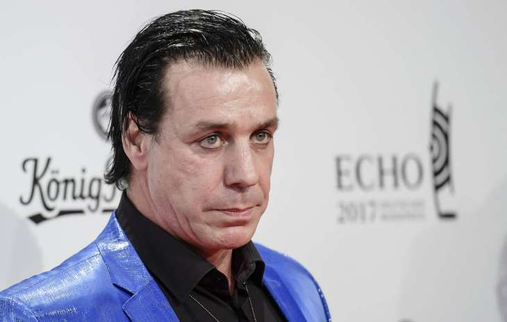 Лидер группы Rammstein провёл тайное свидание сроссиянкой