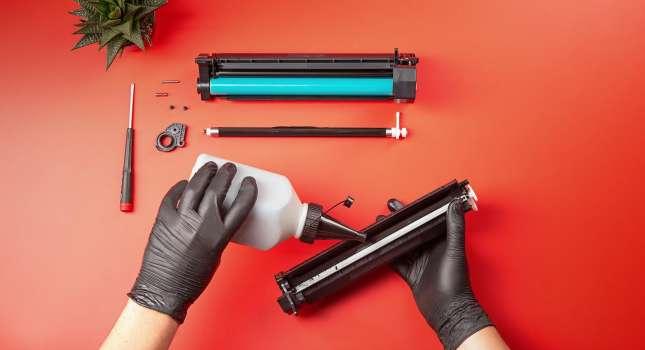 Ремонт бытовой техники. Заправка картриджей принтеров