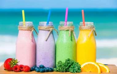 Пошаговые рецепты витаминных коктейлей