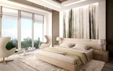 Что можно повесить над кроватью: 7 уютных и необычных решений