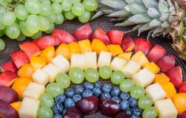 Цветовая диета: главные особенности и меню