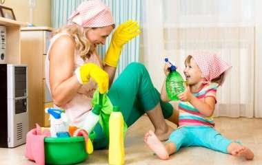 Как справиться с домашними обязанностями и не выбиться из сил?