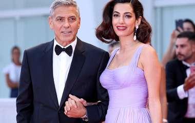 Джордж и Амаль Клуни станут родителями близнецов во второй раз