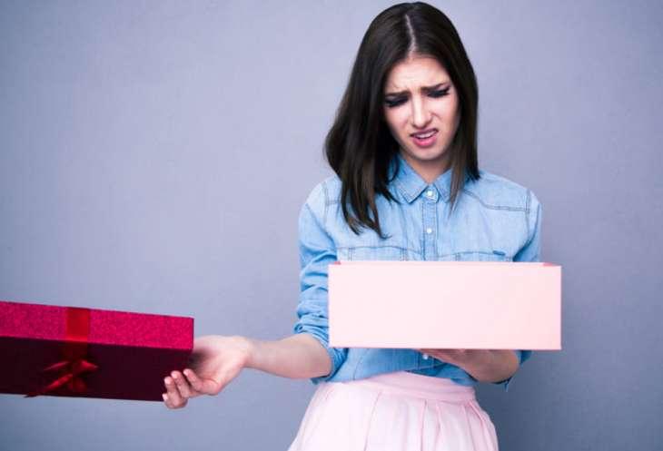 10 причин, почему мужчины не дарят дорогие подарки