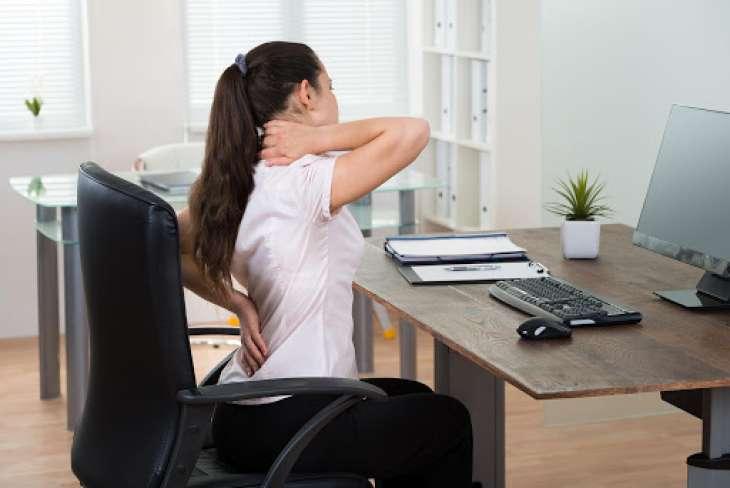 Как работать за компьютером без вреда для спины