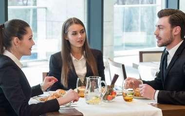 Этикет делового обеда: как произвести хорошее впечатление