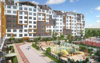 О жилом комплексе Оранж Парк: квартиры с двориком
