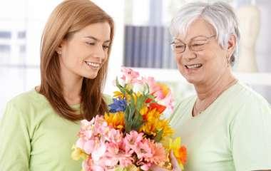 Какие цветы подарить любимой бабушке