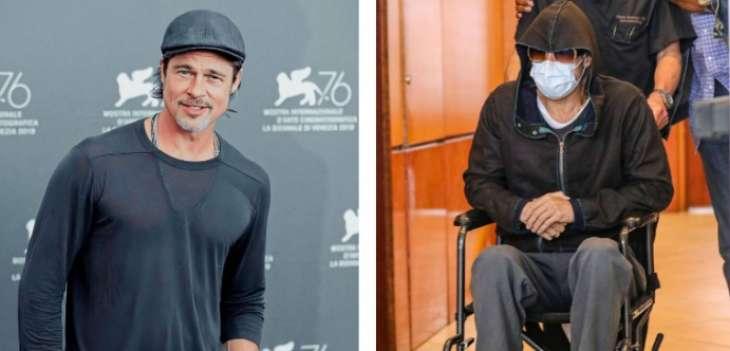 Всего лишь посетил стоматолога: Брэд Питт оказался в инвалидной коляске (фото)