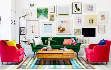6 предметов интерьера, которые сделают гостиную уютной