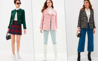 Твидовый жакет — вещь, которая заменит джинсовую куртку этой осенью