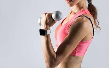 5 упражнений для красоты и рельефности рук