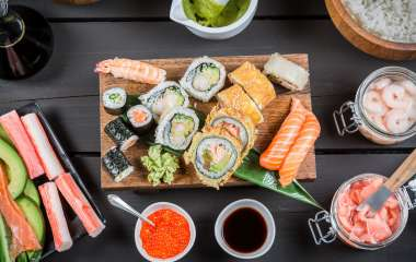 Суши из макрели