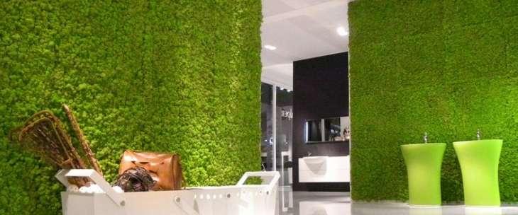 Как украсить дом стабилизированным мхом
