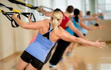 TRX петли: упражнения для женщин