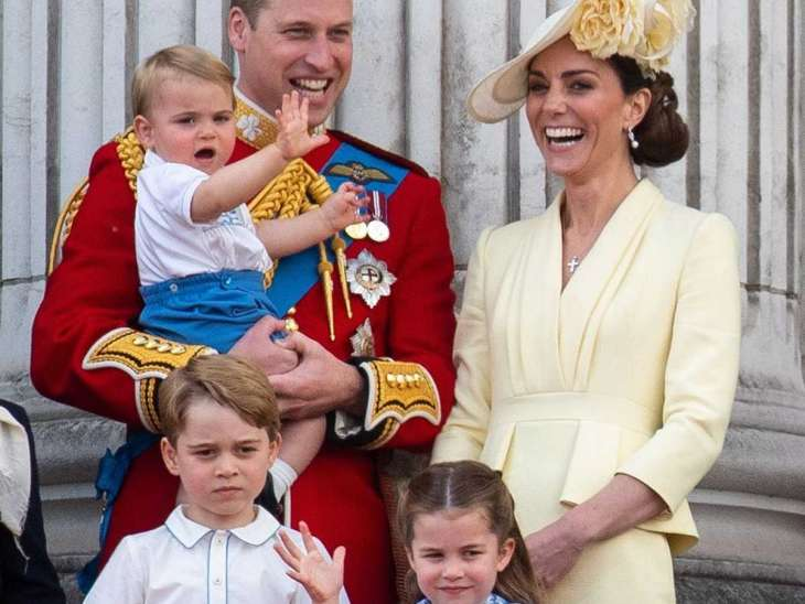Принц Уильям и Кейт Миддлтон посетили финал Евро-2020 вместе со старшим сыном