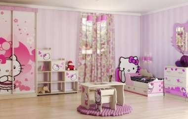 Сочетаемость предметов детской мебели