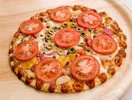 Томатно-луковая пицца