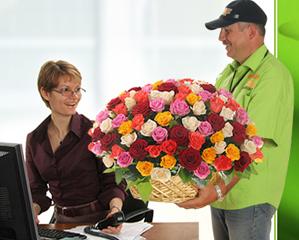 Заказ цветов с доставкой. Преимущества